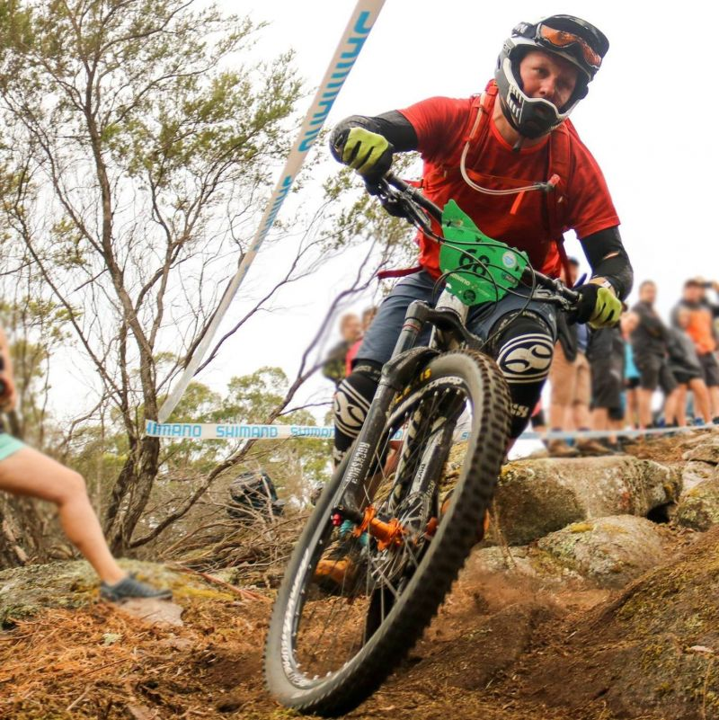 Ben Zalmstra mountain bike riding