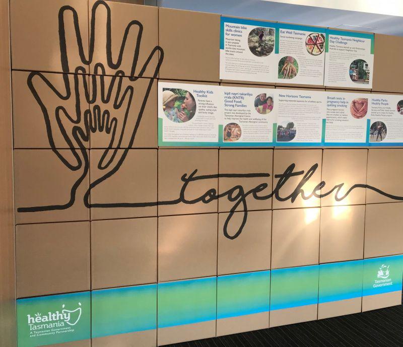 Healthy Tasmania Community Forum Sharing Wall